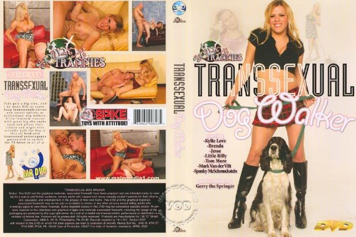 Brenda, Kylie Love, Jesse Flores - Transsexual Dog Walker (Transsexual) Spanky's Trannies [SD]