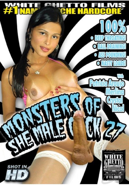 Crystal, Nicol, Patricia Araujo, Merlina - Monsters Of She Male Cock #27 (Transsexual) White Ghetto Films [SD]