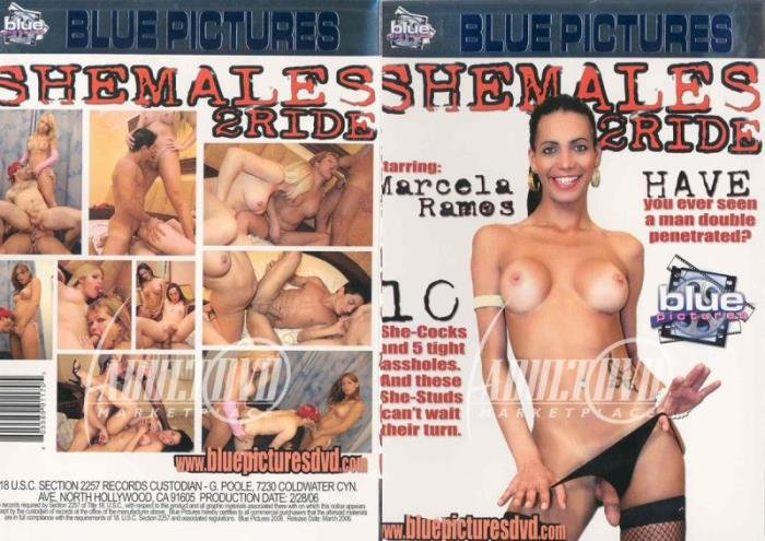 Marcela Ramos, Fabiana - SheMales 2 Ride (Transsexual) Blue Pictures [SD]