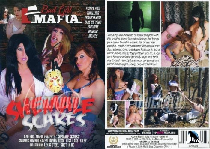 Kimber Haven, Lisa Lace, Raven Roxx, Riley - Shemale Scares (Transsexual) Bad Girl Mafia [SD]