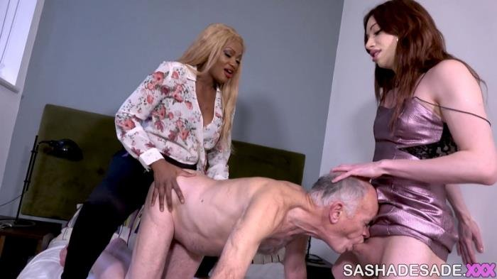 Sasha de Sade and friends - Visiting A Married Couple (Transsexual) SashaDeSade.XXX [FullHD]